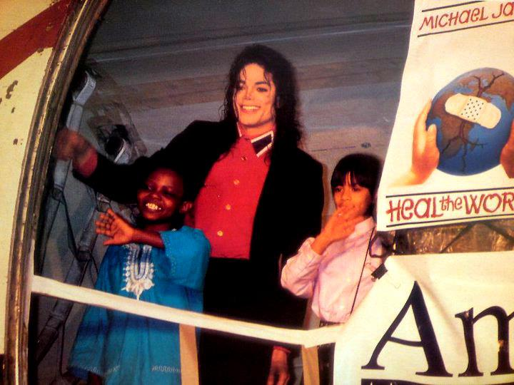MJ Heal the World poster