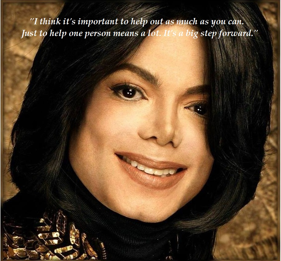 MJ Legacy met quote