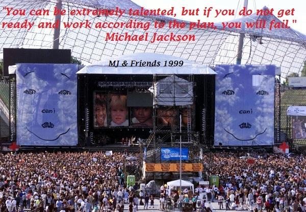 MJ meets Nelson Mandela