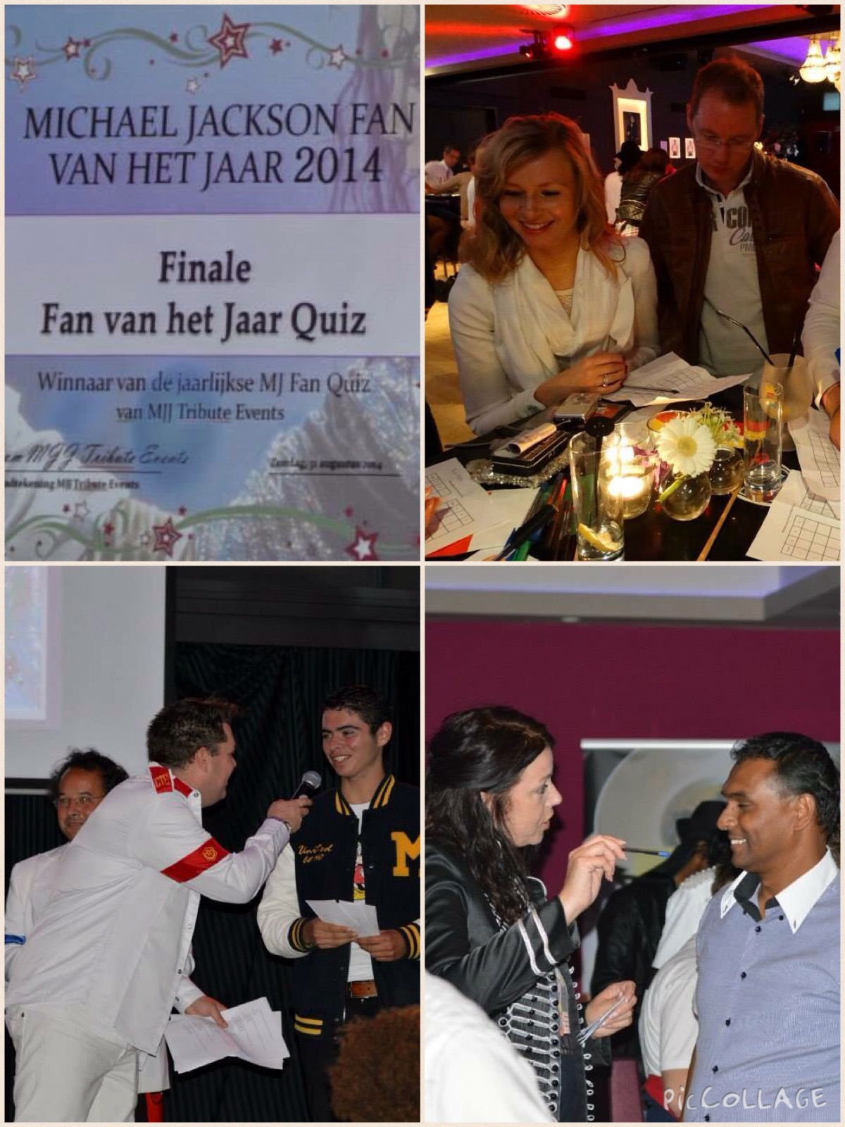 Compilatie MJ Event Fan vh Jaar 2014